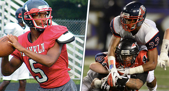 Jacquez Adams (left) and brother Jordan Adams are three-star athletes, according to Rivals.com. They committed to West Virginia on Saturday, becoming the eighth and ninth pledges for the class of 2015.