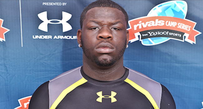 Lineman Dontae Angus of Philadelphia's Martin Luther King High, has been cleared to enroll at West Virginia.