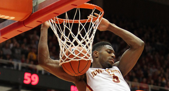 Iowa State forward Melvin Ejim scored a Big 12-record 48 points against TCU on Saturday in Ames, where the Cyclones beat the Horned Frogs 84-69.