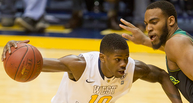 Eron Harris scored 32 points—one off his career best—but West Virginia fell 88-75 to Baylor.