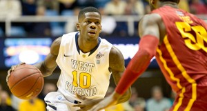 Eron Harris averaged 17 points per game as a sophomore, fifth-best in the Big 12. But his defense and ballhandling need sharpening—as does his ability to embrace being a marked man by opponents.