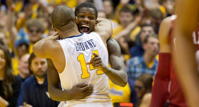 Eron Harris scored 26 of his 28 points after halftime—including a game-extending  3-pointer— when West Virginia beat Oklahoma 91-86 on Feb. 5.