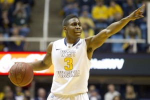 Point guard Juwan Staten closes out a fantastic regular season as West Virginia hosts Kansas on Saturday.