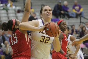 Albany features 6-foot-9 Australian center Megan Craig, who will plug the middle when the 15th-seeded Danes face No. 2 seeded West Virginia on Sunday in the NCAA tournament.