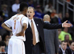 Rick Barnes thought his team was on the right track as it throttled West Virginia on Thursday. But one night later, a 17-point loss to Baylor had him confounded.