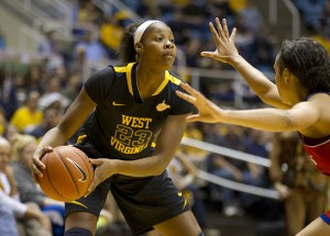 Sophomore guard Bria Holmes joined senior center Asya Bussie among the AP All-American honorable mentions.