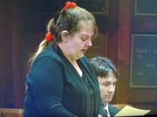 Judy Kowaleski-Slagle spoke to the court during her sentencing Monday.