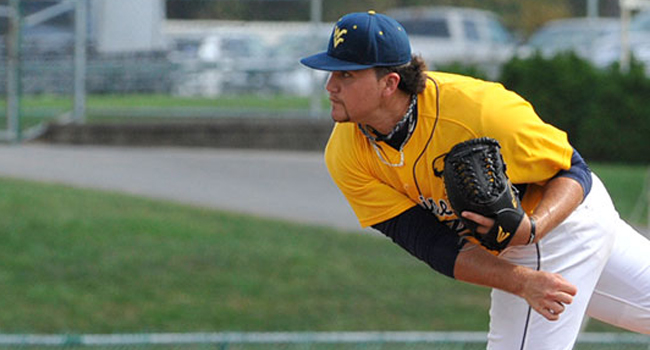 Sean Carley tossed seven innings to beat Coastal Carolina 6-2 and earn his first victory at West Virginia.