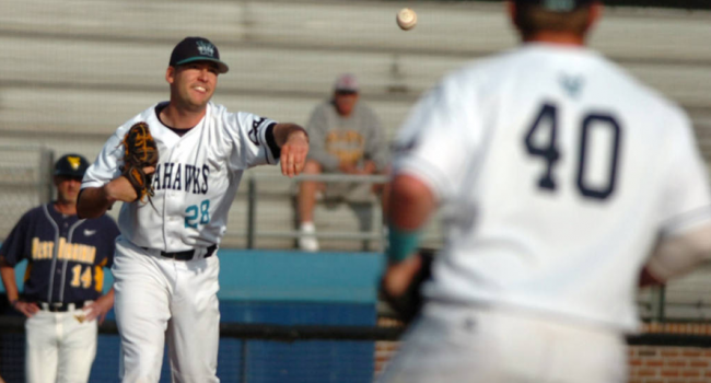 UNC Wilmington pitcher Mat Batts matched WVU's Harrison Musgrave in pitcher's duel before the Mountaineers' bullpen gave up the walk-off run in the 10th.