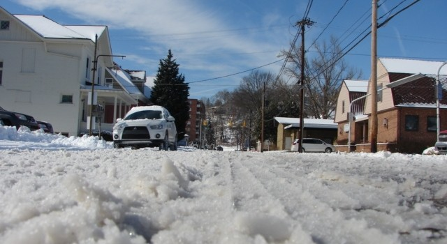 Highways across West Virginia were still snow covered and icy Tuesday morning.