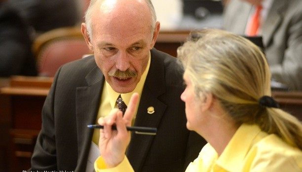 Jefferson County State Sen. Herb Snyder, left, announced Monday he would not seek re-election in 2016.
