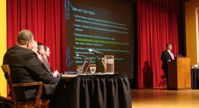 Scientists with the West Virginia Testing Assessment Project, or WV TAP, presented its findings Friday at West Virginia State University.