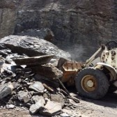 DOH crews cleaned up a rock slide on state Route 99 in Raleigh County Monday afternoon.