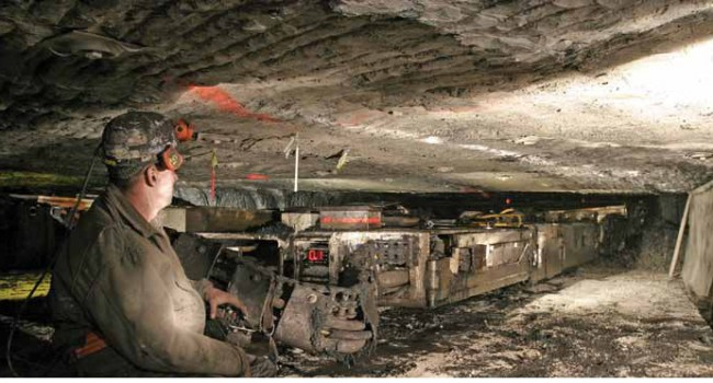Under new rules, machines like the continuous miner would be required to be equipped with detection equipment to shut down if workers come too close.
