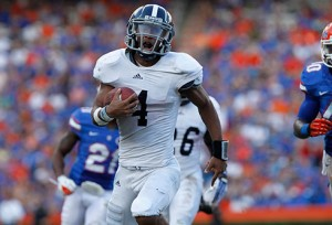 Kevin Ellison led Georgia Southern to an upset of Florida in the 2013 season finale, and now—as the Eagles move into the FBS—they will visit West Virginia in 2015.