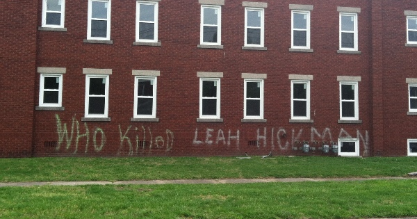 This is what vandals did to a Huntington apartment building this week.