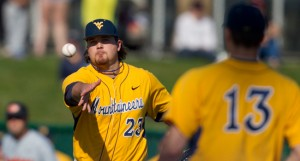 Starter-turned-closer Sean Carley was 5-3 with a 2.95 ERA and four saves for West Virginia this season.