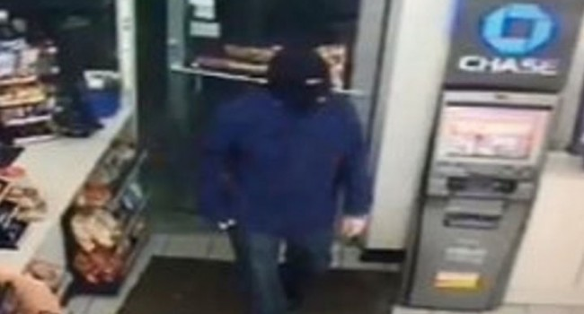 Parkersburg police say this man robbed the Speedway on 7th Street Wednesday morning.