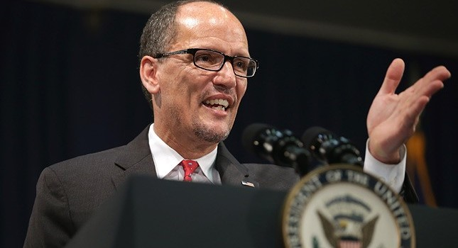 U.S. Labor Secretary Thomas Perez said he was glad to come to West Virginia to make an announcement that could save lives.