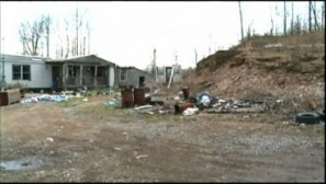 The remains were found late last week on this property in Wyoming County.