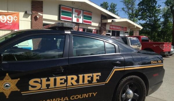 Friday's robbery began in the parking lot of the 7-Eleven on West Main Street near St. Albans Friday morning.