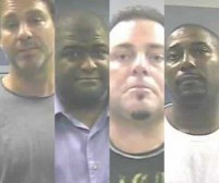 Greg Glick, Jamey Thompson, Guy Miller, and Michael Williams all admitted to a scheme to burn a Logan building to collect insurance money.