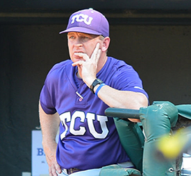 TCU coach Jim Schlossnagle said West Virginia belongs in the NCAA field regardless of what happens at the Big 12 tournament.
