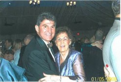 U.S. Senator Joe Manchin posted this 2008 photo with his mother, Mary Manchin, last week.