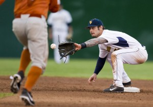 West Virginia and shortstop Taylor Munden took two of three from Texas this weekend.