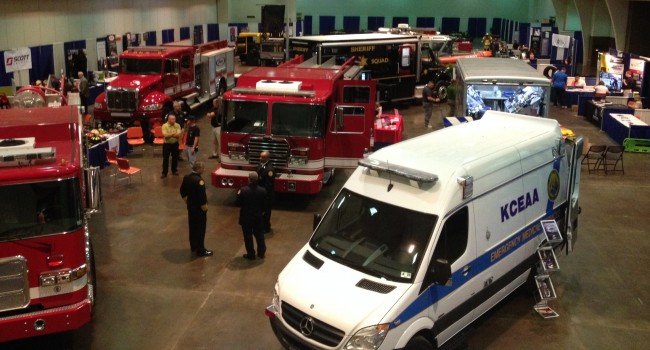 The latest in emergency response vehicles have been on display at the West Virginia Public Safety Expo in Charleston.
