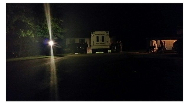 State Police and Putnam County deputies during an eight hour standoff overnight.