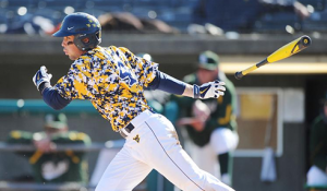 Bobby Boyd and the West Virginia Mountaineers are dressed in their retina-searing camouflage jerseys for today's losers-bracket game against Baylor.
