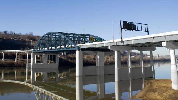 Six-week project will take place on the elevated surface on and around the Eugene A. Carter Bridge in Charleston.
