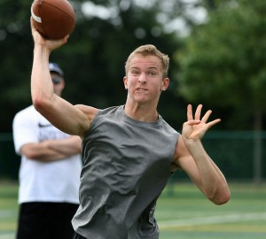 Three-star prospect Chris Chugunov of Skillman, N.J., became West Virginia's 11th commitment for the class of 2015.