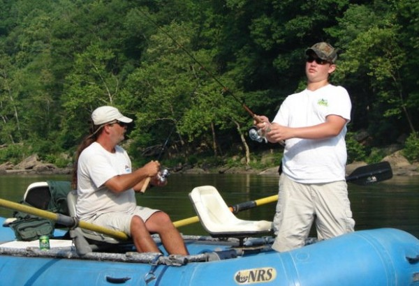 A guide is advisable if you're planning to float on New River, but West Virginia features a range of waters made for float fishing during the summer months