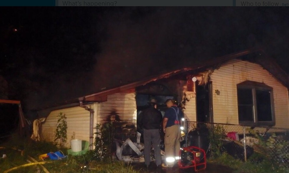 A Saturday morning fire in this garage apartment in Jefferson claimed the life of Steve Hasdot, 66.