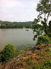 Emergency crews including diving teams were on the Kanawha River Tuesday looking for a possible drowning victim.