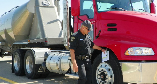 PSC inspectors are looking at hundreds of large trucks during this week's blitz.