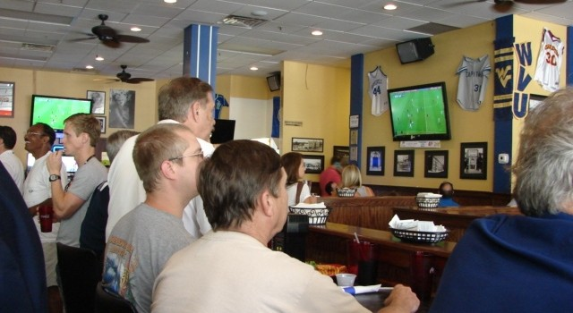 World Cup fans gathered at Adelphia Sports Bar in downtown Charleston to watch Thursday's action.