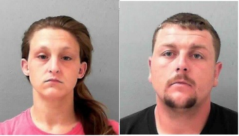 Carla Adkins and Jimmie Edwards allegedly exchanged baby's formula for cash at the expense of their son's health.