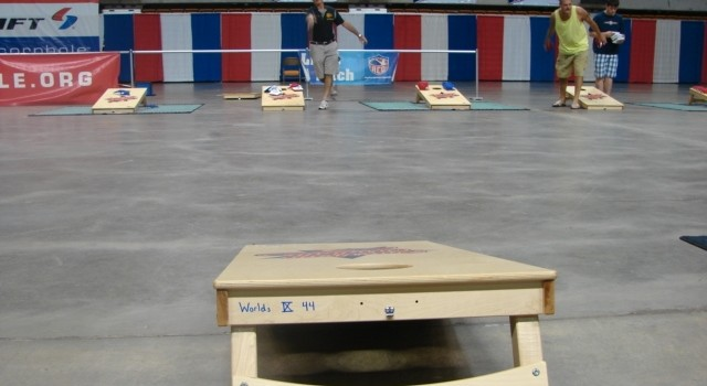 Cornhole champions are being crowned this week in Charleston.