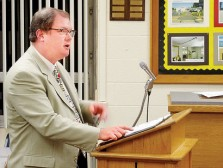 Parkersburg South High Principal Tom Eschbacher was respected and well-liked.