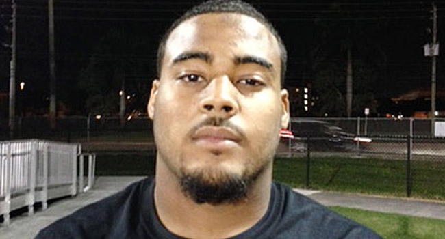 Offensive lineman Jah'shaun Seider of Glades Central, Fla., is a three-star prospect with a direct bloodline to the West Virginia coaching staff.
