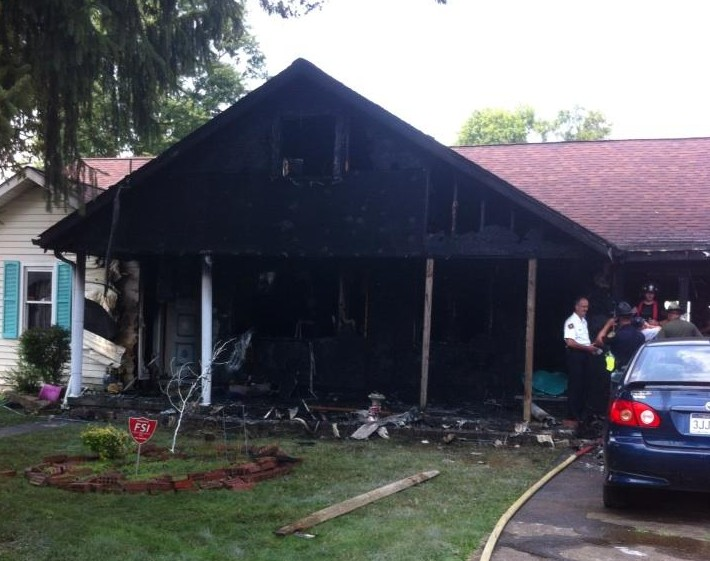Investigators say a lit cigarette may have started the blaze.
