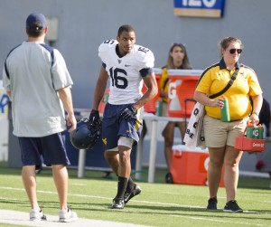 West Virginia cornerback Terrell Chestnut climbed up the depth chart during preseason camp.