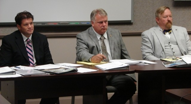 Members of the state Home Rule Board heard presentations in Charleston Aug. 4, one of five regional meetings.