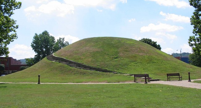 The Indian Mound is a well-known landmark in downtown South Charleston. City leaders are looking for home rule status to help cleanup other parts of town.