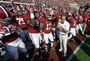 Nick Saban expects to visit with numerous friends from West Virginia this weekend, including U.S. Sen. Joe Manchin.