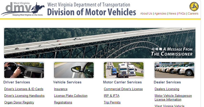 Wv metronews dmv offering more services online for Wv dept motor vehicles charleston