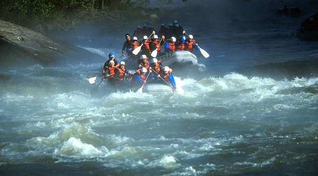 The Gauley River provides some of the best whitewater rafting in the world each fall.